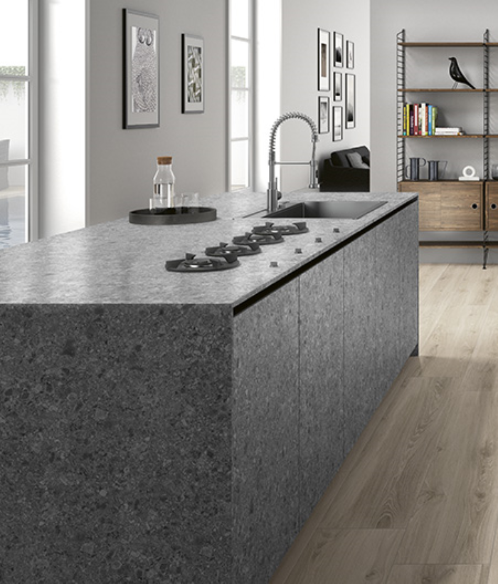 kitchen countertop ceramic tile